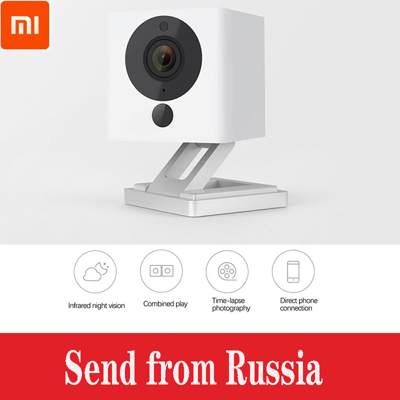 Original Xiaomi Mijia Xiaofang 1080P Digital Zoom Smart Camera IP Camaras Night Vision WiFi Wireless APP Control Camera For Home