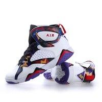 Primavera 2019 sapatos de basquete masculino absorção de choque sapatos esportivos sapatos masculinos casal botas de batalha alta ajuda lazer juventude