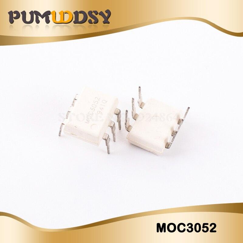 10PCS MOC3020 MOC3021 MOC3022 MOC3023 MOC3041 MOC3043 MOC3052 MOC3061 MOC3062 MOC3063 DIP6 DIP New And  Original IC