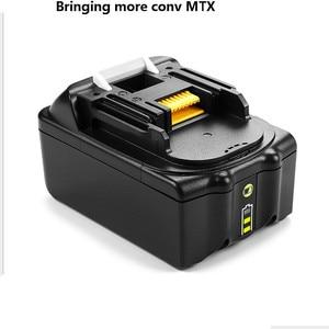 2 шт./лот для Makita 6000 мАч 18 в 6.0Ah перезаряжаемые батарея светодиодный подсветкой Мощность Инструмент ударный драйвер LXT400 BL1850 BL1845 TD251D