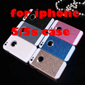 2016 New For iphone 5s case color diamonds do not fall off the shimmering powder case Case on for iPhone 5s phone cases