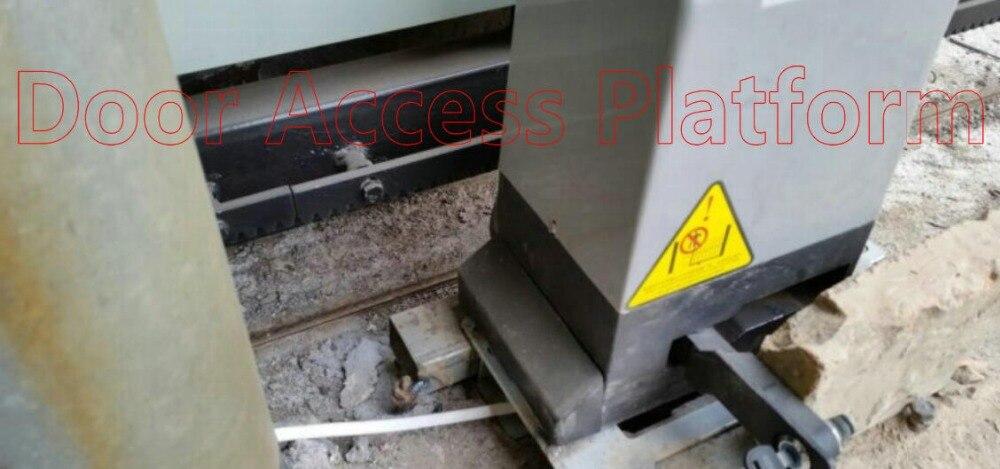 Set 2 1200KG Abridor de Puerta el/éctrica Deslizante Motor autom/ático Kit de Controlador de Seguridad de v/ía de Servicio Pesado Nannday Abridor de Puerta corredera