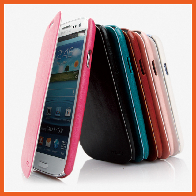 save off 58e1e f9732 US $9.99 |Original Kalaideng Brand Luxury phone cover for Samsung Galaxy S3  i9300 free shipping phone cover discount price leather case-in Flip Cases  ...
