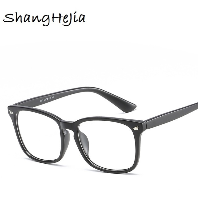 3a56ef1327f 2018 Fashion Women Glasses Frame Men Eyeglasses Frame Vintage Square Clear  Lens Glasses Optical Spectacle Frame