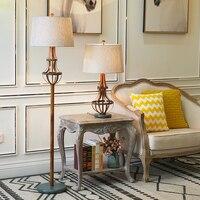 Modern Floor Lamp Retro Resin Industrial Style Creative Floor Light Living Room Bedroom Home Hotel E27 Floor Lighting Fixture