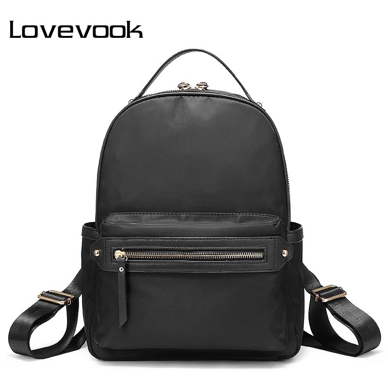 LOVEVOOK Backpack Women School Bags Female Backpacks For Girls Teenagers Women Anti Theft Back Pack Oxford Waterproof Bag 2019