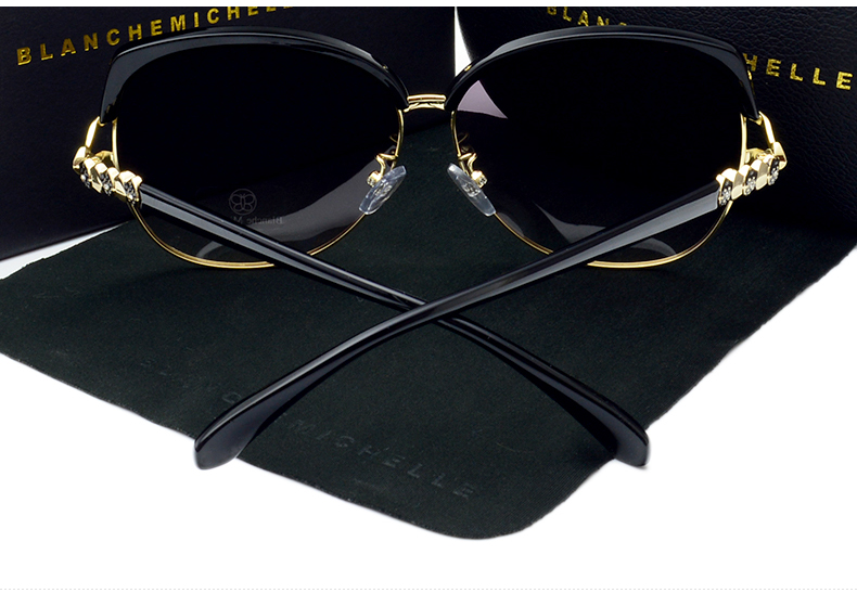HTB1PIjHjm3PL1JjSZFxq6ABBVXag - Blanche Michelle 2018 High Quality Square Polarized Sunglasses Women Brand Designer UV400 Sun Glasses Gradient Sunglass With Box