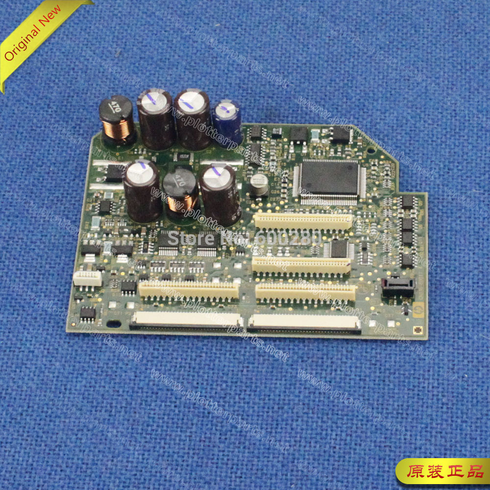 C7769-69376 CH336-80017 Carriage PC board for HP DesignJet 500 510 800 plotter parts Original Used free shipping new original c7769 60390 c7769 60163 cutter assembly for designjet 500 800 plotter parts on sale