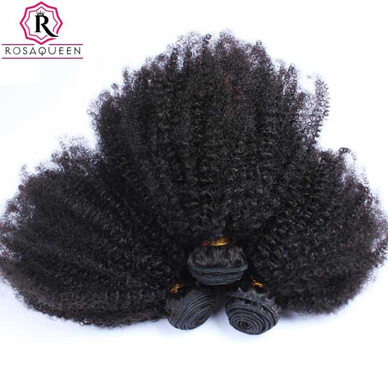 Mongolian Afro Kinky Curly font b Hair b font font b Weave b font Extensions 4B