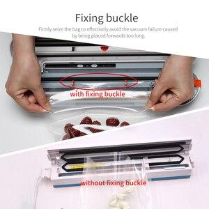 Image 3 - Tinton vida aferidor do vácuo de alimentos máquina de embalagem com 10 pçs sacos de vácuo livre máquina seladora a vácuo aferidor do vácuo empacotador
