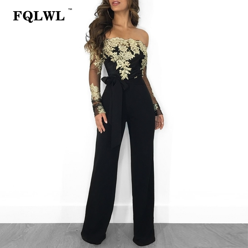 e8eb63b955c Buy bandage jumpsuit wide leg and get free shipping on AliExpress.com