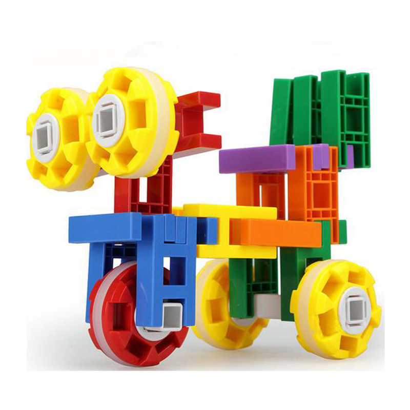 160 PCS/Pack DIY Plastic Building Bricks Children Classic Particles Kids Colorful Cube Puzzles Creative Educational Toys dayan gem vi cube speed puzzle magic cubes educational game toys gift for children kids grownups