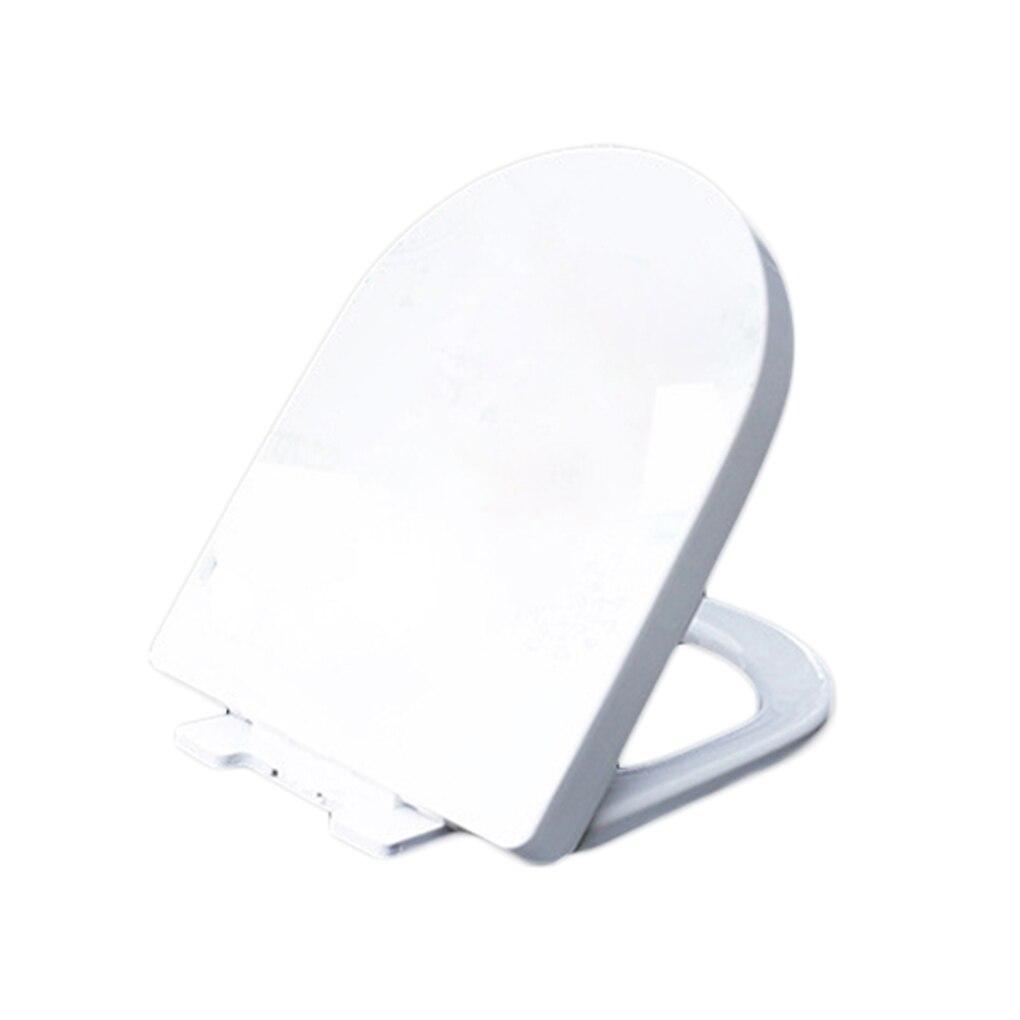 U O Type Épaissir Universel Lent-Près Adulte siège de toilette couvercle du couvercle WC Siège Remplacement