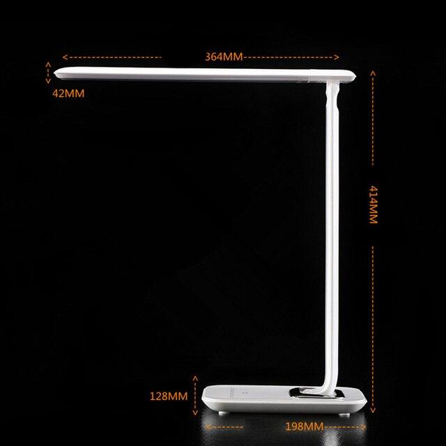 Продажи Регулируемый Прикосновение Роскоши 72 LED Настольная Лампа Чтение Свет Диммер Холодный Теплый Flex USB