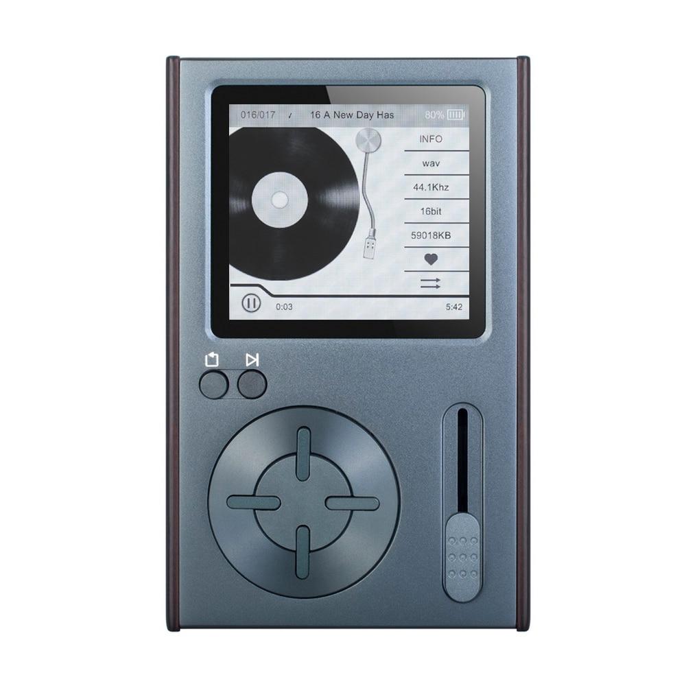 Hifi-player Warnen C10 32 Gb Tasche Hifi Musik Player Verlustfreie Audio Mplayer Jz4760 Dsd 2,35 Zoll Bildschirm Linie Heraus Tf Karte Slot Hifi-geräte