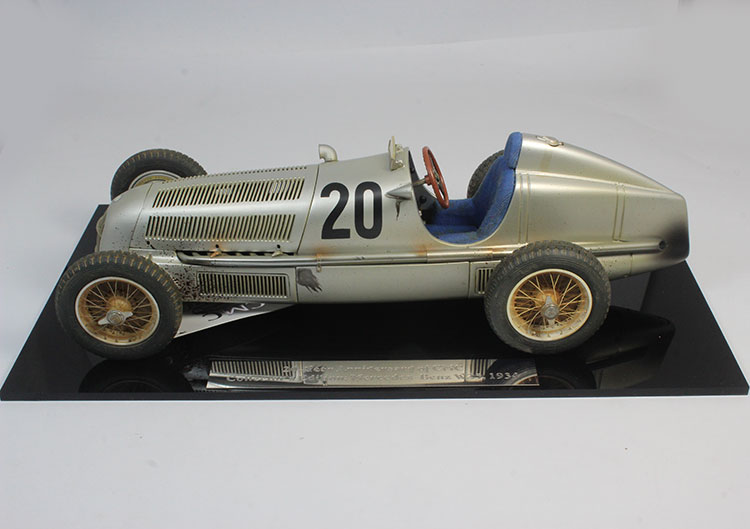 CMC 1:18 Restricted w25 # 20 1934 Nian alloy automobile fashions # 20 automobile fashions Previous model of Print assortment mannequin