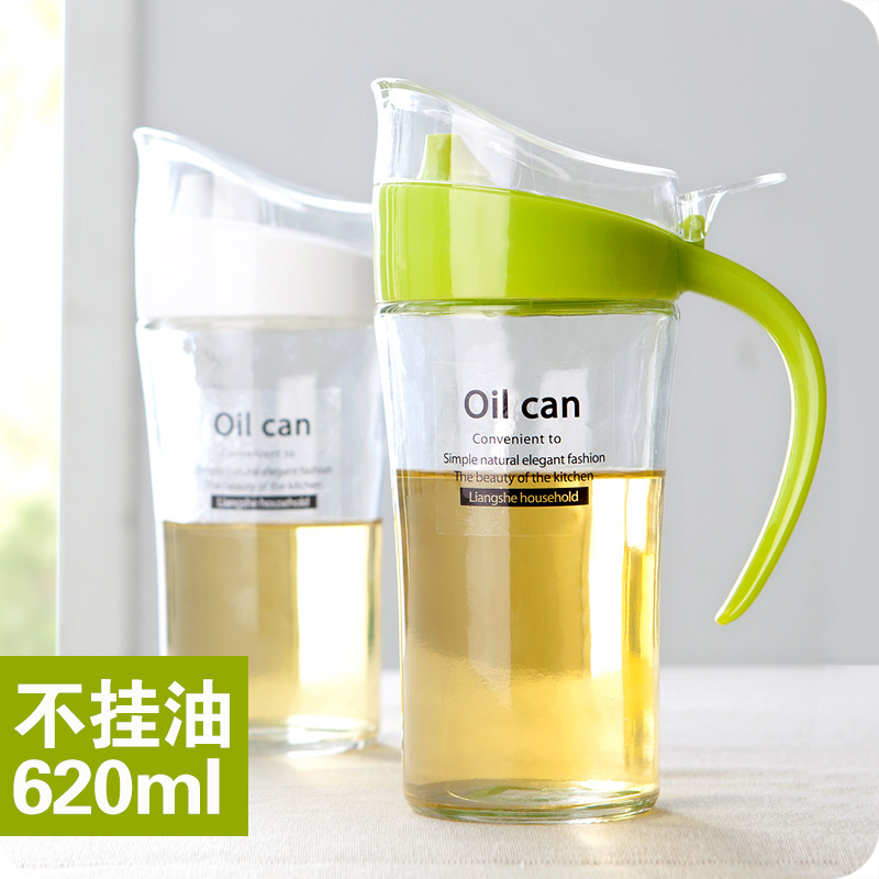 New Listing Large Oiler Household Glass 620ml Leak Oiler Kitchen Supplies  Seasoning Bottle Oil Bottle Vinegar Sauce Bottle In Storage Bottles U0026 Jars  From ...