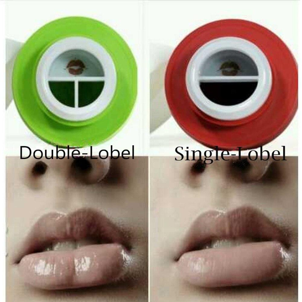 Più Nuove Donne Ragazze Lip Plumpers Apple Labbra Enhancer Doppia o Singola Lobate Lip Aspirazione Plumper labbra Cura Strumenti Per La Signora