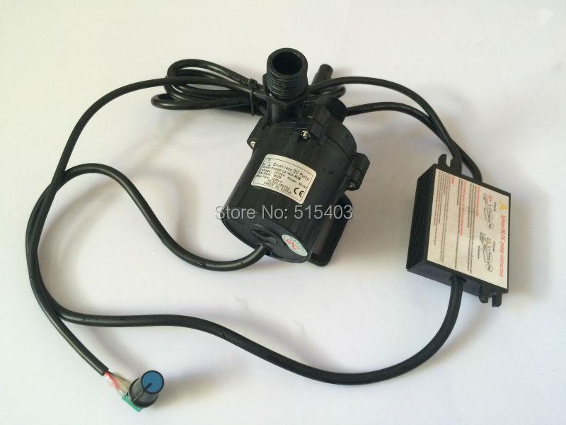 ФОТО 2pcs/ Lot High Pressure Pumps, Water Pressure Booster Pump 1200LPH 15M, 5-24V Wide Voltage Operation Mini Electric Water Pump
