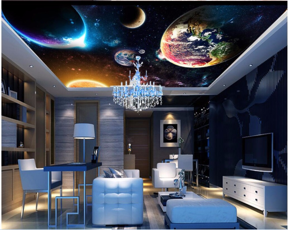 Custom Photo 3d Ceiling Murals Wallpaper Home Decor Painting Dream