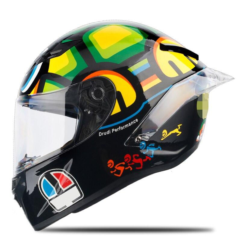 LDMET Plein Visage moto rcycle Casque off raod capacetes de moto ciclista moto croix pour racing kask casco moto locomotive barre 46