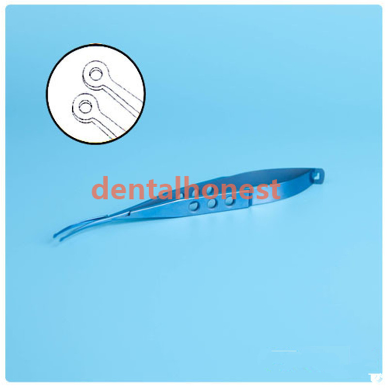 High Quality Titanium Alloy Ophthalmic Tools Shepard Lens Forceps 120mm long in Face Skin Care Tools from Beauty Health