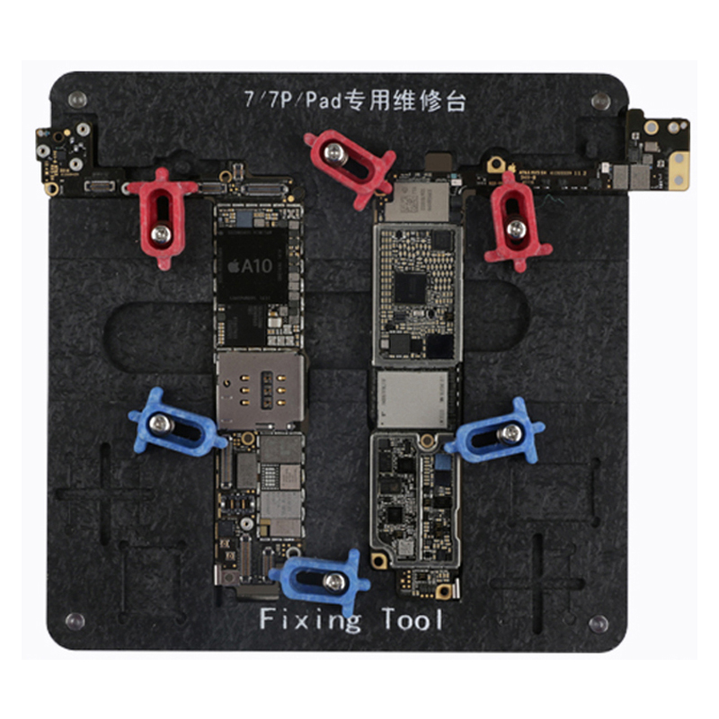 Logic Board Clamps High Temperature Resistant Motherboard PCB Fixture Holder for iPhone 6 6S 7 Plus Fix Repair Tools rapid fixture clamps fixture clamp fastening compactor gh101a
