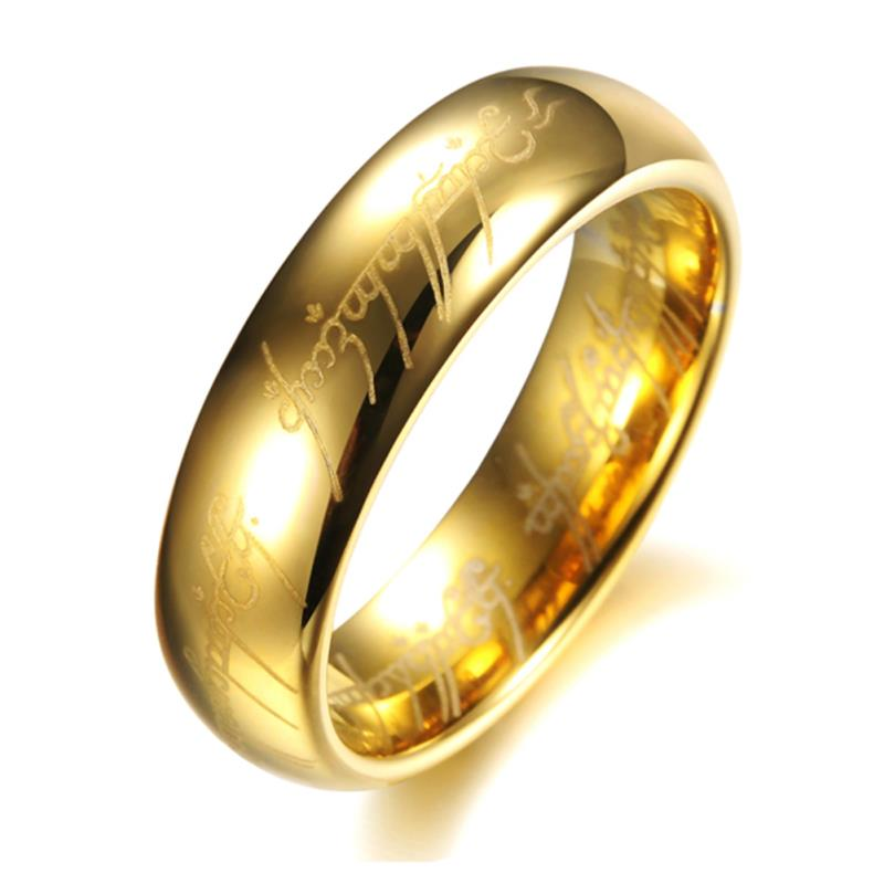 Hot selling H Letters One Ring To Rule Them All Male Titanium ...