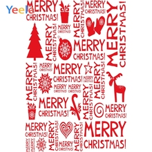 Yeele Christmas Photocall Retro Wall Decor Ball Elk Photography Backdrops Personalized Photographic Backgrounds For Photo Studio