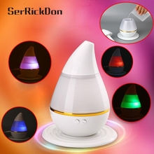 LED aroma diffuser Humidifier Colorful  USB Mini humidificador Air Purifier Atomizer Night Lights for essential difusor