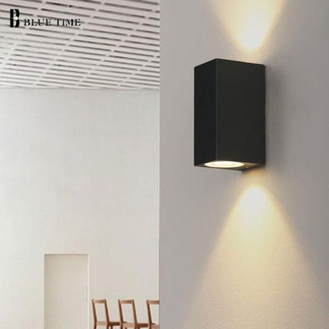 10 W Led Wandlamp Warm Wit/Koel Wit Voor Woonkamer Bed Room Moderne ...