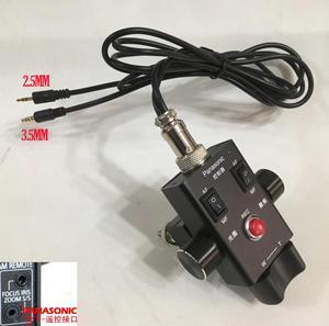 Image 1 - HC X1 AG UX90 DVX200 Zoom odak kontrol kamera uzaktan 2.5mm ve 3.5mm LANC denetleyici PANASONIC AG AC30 AG UX180 AG AC90 EVA1