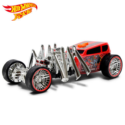 Authorized Hot Wheels Large Spider Electric Car Sound And Light Toy Limited Kids Toys Plastic Metal Miniatures