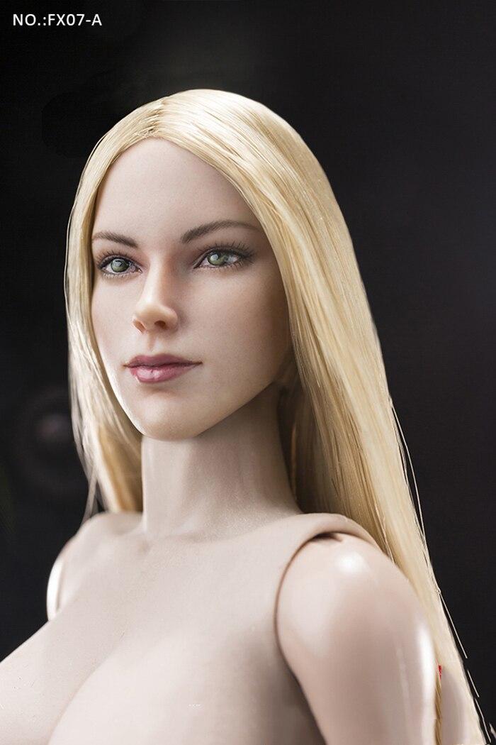 1/6 Scale Collectible ยุโรปและอเมริกา Supermodel หัว Sculpt & หญิงชุด FX07 สำหรับแฟนของขวัญ-ใน ฟิกเกอร์แอคชันและของเล่น จาก ของเล่นและงานอดิเรก บน   3