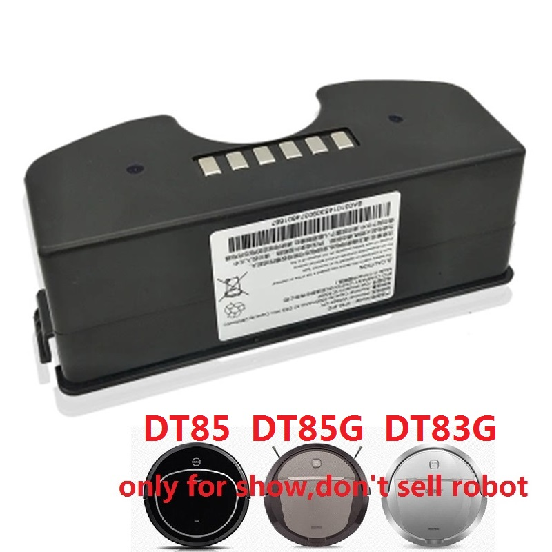Battery for <font><b>ECOVACS</b></font> <font><b>Deebot</b></font> DT85G DT85 DT83G <font><b>DM81</b></font> Robot Vacuum Cleaner Sweeper NI-MH Rechargeable Accumulator Replacement 12V image