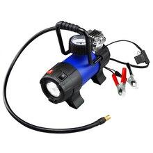 Компрессор автомобильный KRAFT КТ 800033 Power Life ULTRA (Производительность 40 л/мин, максимальное давление 10 бар, напряжение 12В, светодиодный фонарь, высокоточный манометр, металлический наконечник)