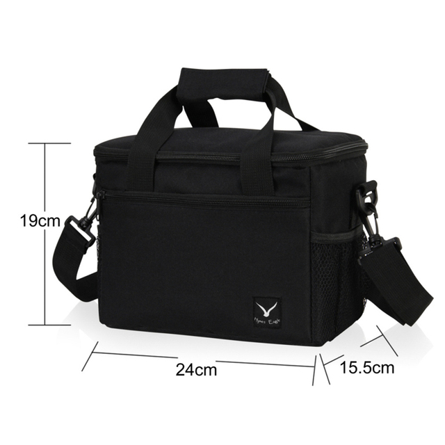 New Lancheira Thermo Lunch Bags Cooler Insulated Lunch Case for Women Kids Thermal Bag Lunch Box Food Picnic Bags Tote Handbags