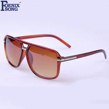 6bf22d218f FOENIXSONG Womens Mens Oversized Sunglasses Vintage Men s Fashion Sun  Glasses Retro Oculos De Sol Black Frame Eyewear Eyeglasses