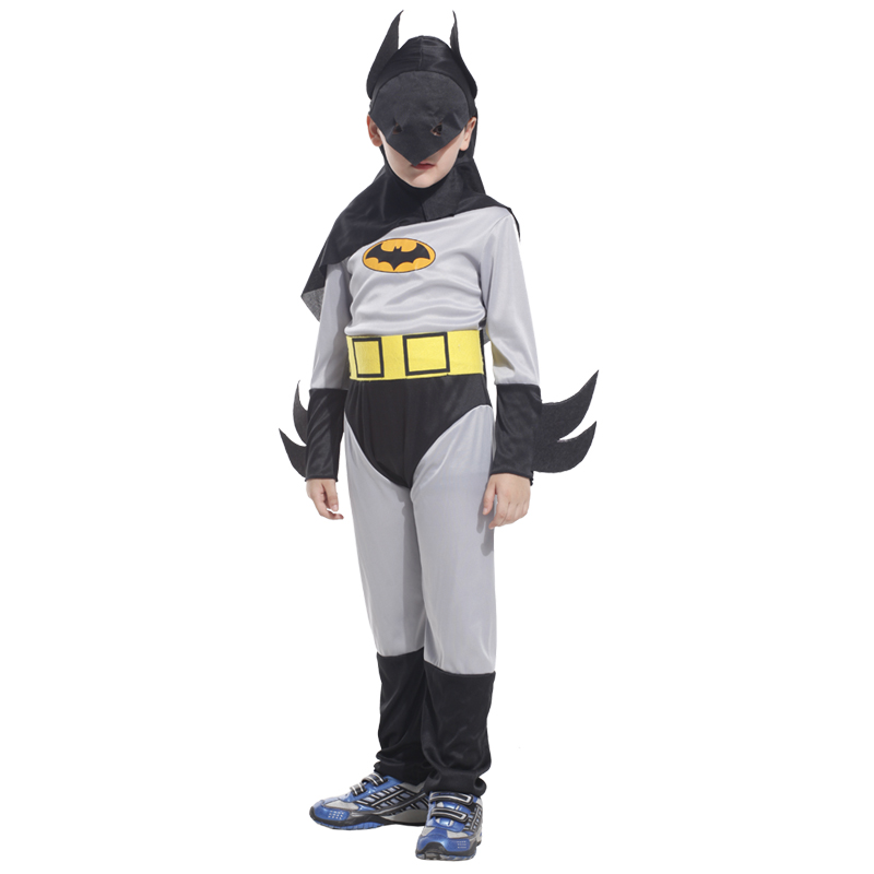 Halloween costume for kids children Fantasia Infantil Carnival Purim Party fancy dress batman boys child Cosplay