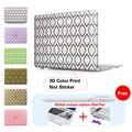 Золотой Сетки Случай Зерна Сумка Для Ноутбука Матовая Case New Air 11 Air 13 Pro 13 Pro 15 ''Новый Retina 12 13 15 для macbook