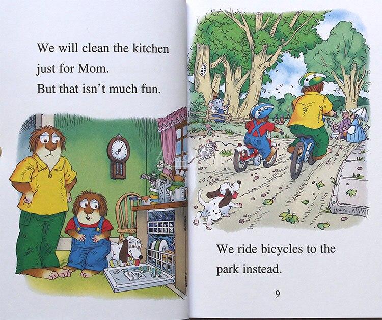 15 livres/ensemble + CD je peux lire petite bestiole anglais image histoire livre enfants bébé éducation précoce parent-enfant lecture livre cadeau - 2