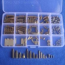 180 шт/компл m2/m3/m4 мужская женская латунная прокладка доска