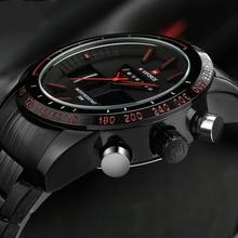 NAVIFORCE Sports Mens Quartz Analog LED Watches
