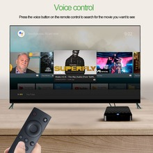 X88 Mini Voice Control Android 7.1 OS Rk3328 Quad Core 4k 2GB Ram 16GB Rom Smart WiFi TV BOX Support WiFi 4K Media player