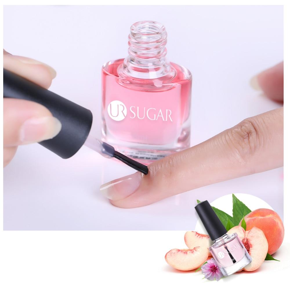 UR SUGAR Nail Cuticle Oil Transparent Revitalizer Nutrition Cuticle Oil Flower Flavor Nail Care Nail Treatment Tools