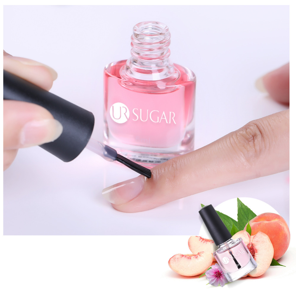 UR SUGAR Nail Cuticle Oil Transparent Revitalizer Nutrition Cuticle Oil Flower Flavor Nail Care Nail Treatment Tools