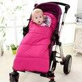 Детские спальный Мешок зимний Конверт для новорожденных спать тепловой мешок Хлопка дети sleepsack в перевозки инвалидных колясках
