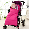 Baby sleeping Bag winter Envelope for newborns sleep thermal sack Cotton kids sleepsack in the carriage wheelchairs