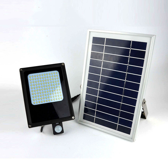 IP65 Waterproof LED Solar PIR Wall Light Outdoor Decorative Lamp for Patio Yard Garden Fountain Driveway Billboard Stairs Porch