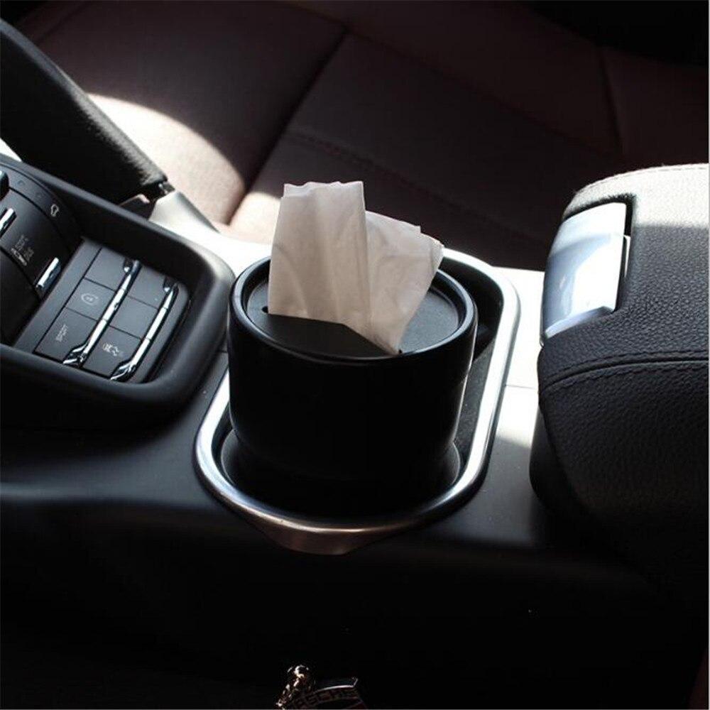 Universal Convenient Car Garbage Trash Box For Volkswagen Golf 4 Golf5 Golf 6 Golf 7 MK6 MK7